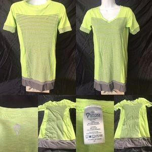 Ivivva size 12 yellow and grey